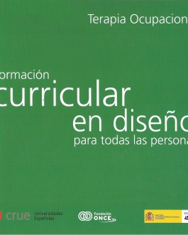 Portada Formación curricular en diseño para todas las personas en Terapia Ocupacional