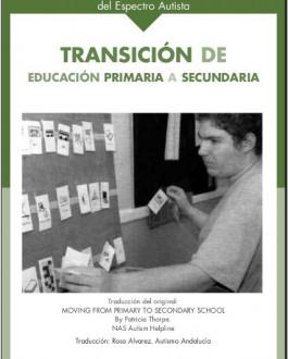 Portada Transición de educación primaria a secundaria. Guía para alumno/os con trastorno del espectro autista