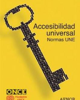 Portada libro accesibilidad universal: Normas Une