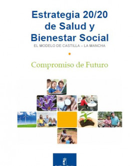 Portada Dvd Estrategia 20/20 de salud y bienestar social. El modelo de Castilla-La Mancha