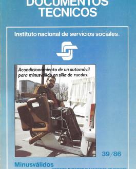 Portada Acondicionamiento de un automóvil para minusvalido en silla de ruedas