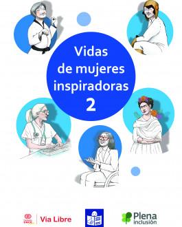 Portada Vidas de mujeres inspiradoras 2