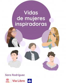 Portada Vidas de mujeres inspiradoras