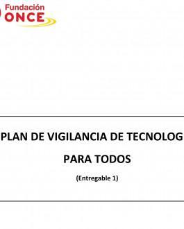 Portada Plan de vigilancia de tecnología para todos