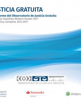 Portada del Libro Justicia Gratuita. XII Informe del Observatorio de Justicia Gratuita