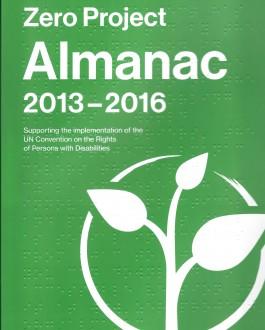 Portada del libro Zero Project Almanac 2013-2016