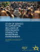 Portada  Study of services to support the inclusion of persons with disability in mainstream environments