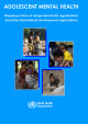 Portada Adolescent Mental Health. Mapping actions of nongovernmental organizations  and other international development organizations