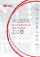 Portada Contribución a los Objetivos de Desarrollo Sostenible 2020