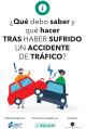 Portada ¿Qué debo saber y qué hacer tras haber sufrido un accidente de tráfico?
