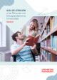 Portada Guía de atención a la discapacidad en la universidad 2020-2021
