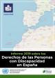 Cubierta Informe 2019 sobre los derechos de las personas con discapacidad en España