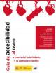 Portada del DVD Guía de accesibilidad al teatro a través del subtitulado y la audiodescripción