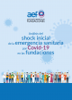 Cubierta Análisis del shock inicial de la emergencia sanitaria por Covid-19 en las fundaciones