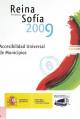 Portada CD Premios Reina Sofia 2009 de accesibilidad universal de municipios