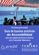 Portada Turismo para todos. Guía de buenas prácticas de accesibilidad  para los establecimientos turísticos de la Comunitat Valenciana